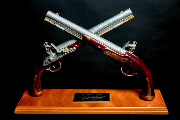 Harper's Ferry Pistol Table Award
