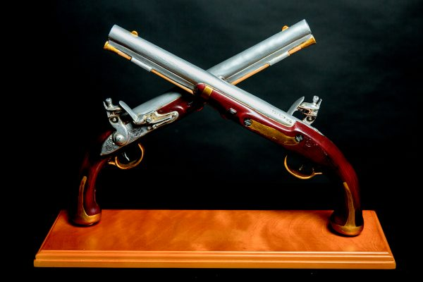 Harper's Ferry Pistol Table Mounted Display