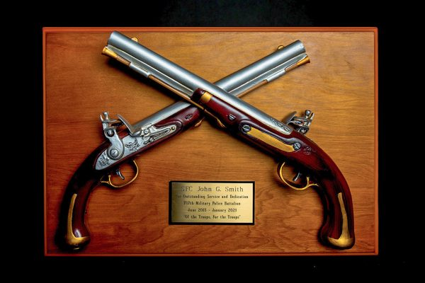 Harper's Ferry Pistol Wall Mounted Award