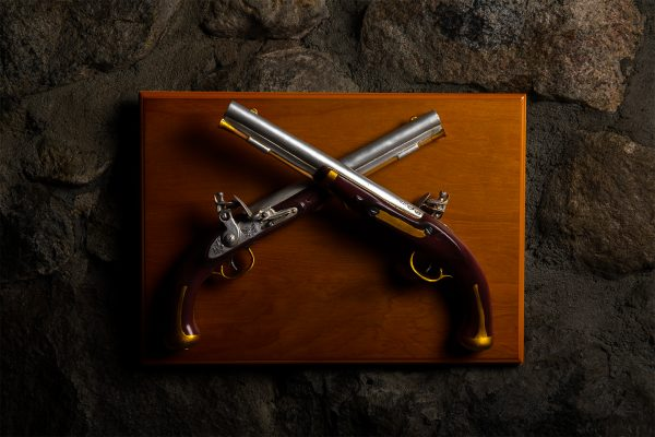 Harper's Ferry Pistol Wall Mounted Display