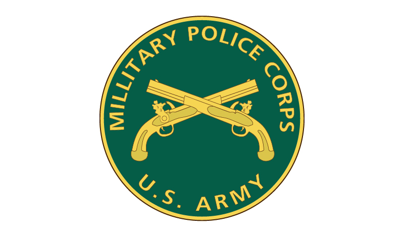 US Army Military Police Branch Plaque
